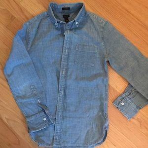 Crewcuts Ludlow chambray button down shirt